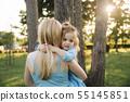 mother, daughter, girl 55145851