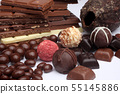 Chocolate sweets 55145886