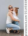 mother, daughter, girl 55145939