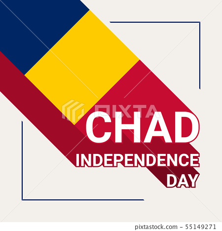 Chad Independence Day Greeting Card 55149271