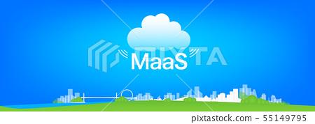 MaaS illustration 55149795