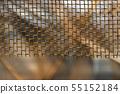 gold metallic grid background 55152184