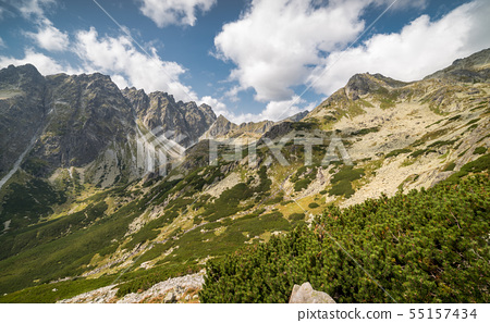 Mountains Landscape 55157434