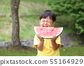 แตงโมกับลูก 55164929