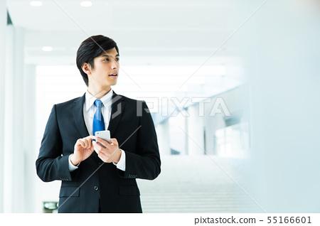 비즈니스 사업가 남성 사무실 55166601