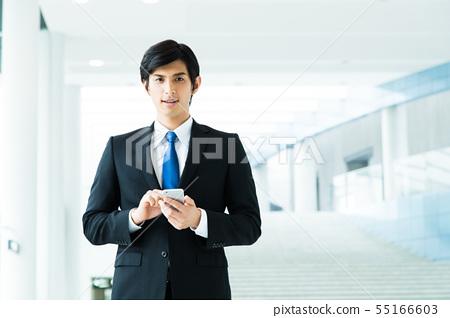비즈니스 사업가 남성 사무실 55166603