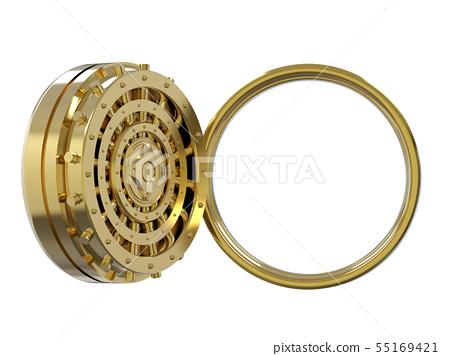 golden bank vault 55169421