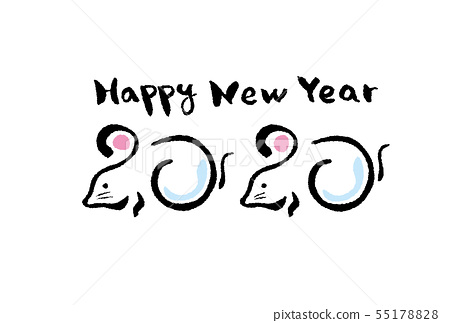 New Year 2020 55178828