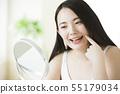 뷰티 미용 이미지 여성 젊은 여성 55179034