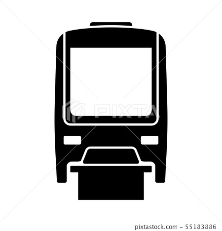 Monorail Icon Front View 55183886
