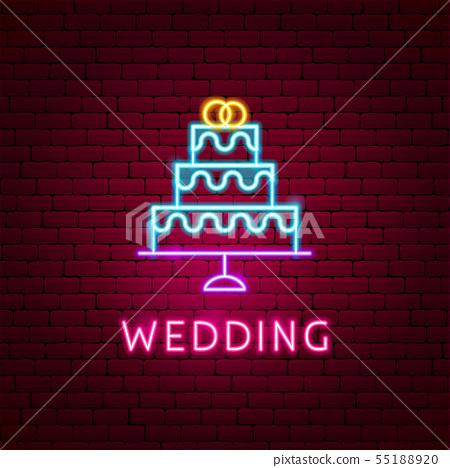 Wedding Neon Label 55188920