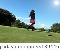 Women playing golf 55189446