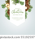 例证,圣诞节,海报 55192597