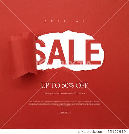 插圖,銷售,購物 55192959