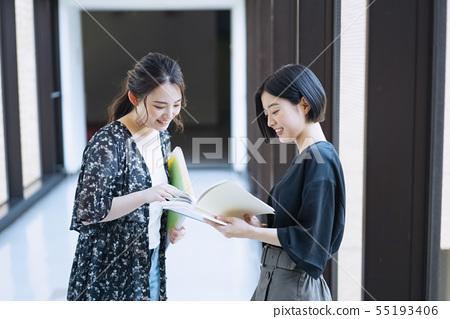 女大學生校園生活攝影合作:Keisen Jogakuen大學 55193406