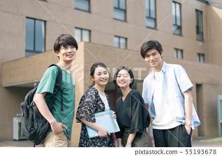 男女大学生校园生活摄影合作:Keisen Jogakuen大学 55193678
