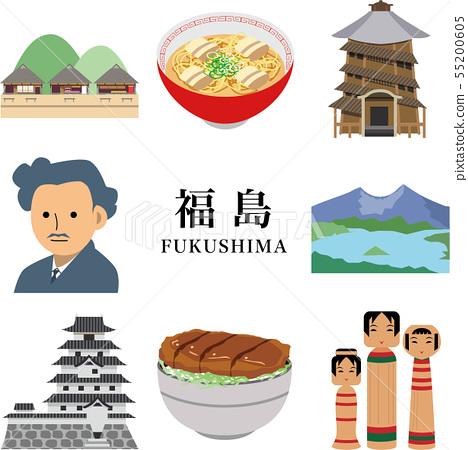 Fukushima sightseeing travel spot 55200605