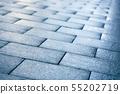 Wet road tiles 55202719