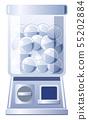 銀膠囊玩具機(方形和膠囊) 55202884