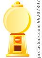 金膠囊玩具機(圓形,無膠囊) 55202897