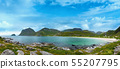 Haukland beach, Norway, Lofoten 55207795
