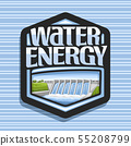 Vector logo for Water Energy 55208799