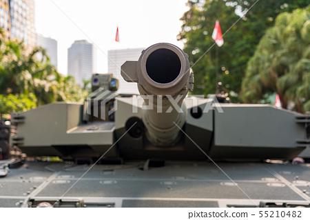 坦克槍關閉 55210482