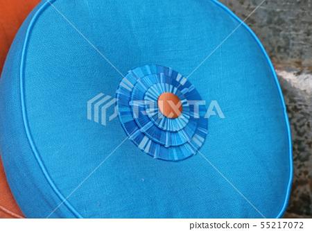 Blue Pillow 55217072