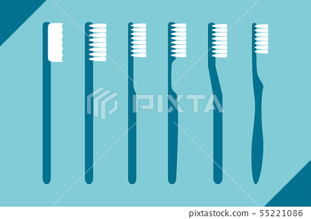set of different toothbrush 55221086