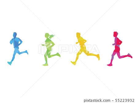 馬拉松 55223932