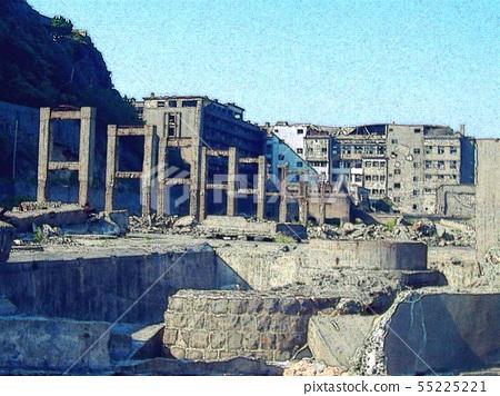 World Heritage Warship Island Remains 55225221