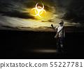 Radioactivity catastrophe 55227781