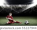 Football female player 55227944