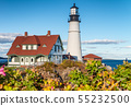 Portland Head Lighthouse in Delano Park, Maine 55232500