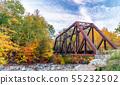 Crawford Notch State Park Bridge, New Hampshire 55232502