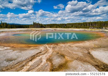 Grand Prismatic Spring Geyser, Yellowstone 55232578