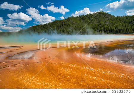 Grand Prismatic Spring Geyser, Yellowstone 55232579
