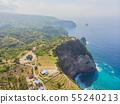 Coast of the island of Nusa Peida. Nature Indonesia. 55240213