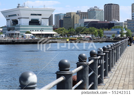 Yokohama Port 55242311