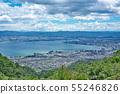 [히에이 드라이브 웨이에서 볼 비와코] 시가현 오츠시 산 마을 55246826