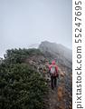 Mountainous landscape (bad weather) 55247695