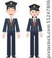 남성 파일럿 여성 파일럿 55247806