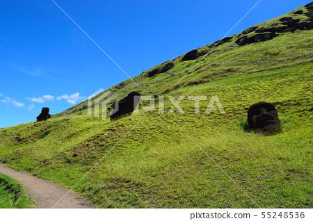 Moai製造廠Lano Lalac山 55248536