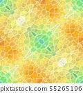 mosaic kaleidoscope jewel seamless pattern texture 55265196