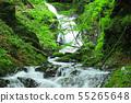 오치아이 세 폭포 날 강 계곡 竜門峡 55265648