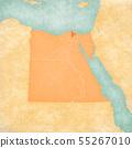 Map of Egypt - Dakahlia 55267010