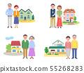 高級4家庭和房子2顏色 55268283