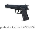 Replica gun isolated on white 55275624