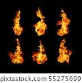 불, 불꽃, 화재 55275699