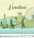 Famous places in London, England 55277178